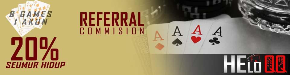 bonus referral poker online